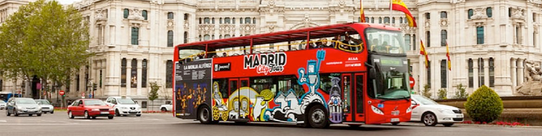 Tickets Bus Turístico Madrid kopen
