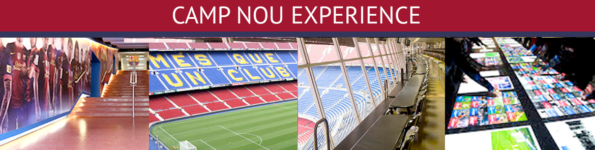 Kjøp  Camp Nou Experience-billetter